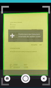 Rechnung abfotografieren Copyright © 2016 inovoo GmbH Herausgeber inovoo GmbH