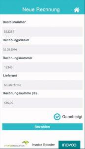 Übertragung der ausgelesenen Metadaten in ein Formular Copyright © 2016 inovoo GmbH Herausgeber inovoo GmbH