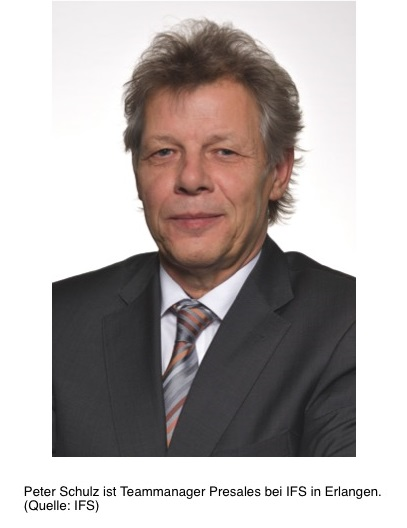 Peter Schulz istTeammanager Presales bei IFS in Erlangen. (Quelle: IFS, Januar 2017)