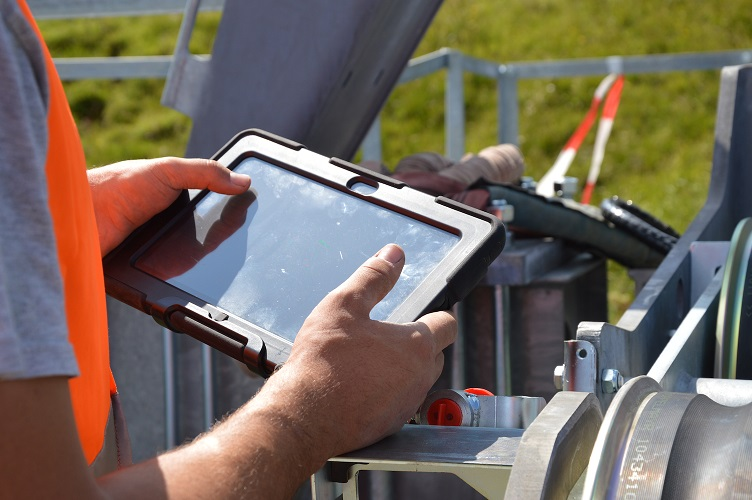 Tablet in use Copyright: Tablet Solutions