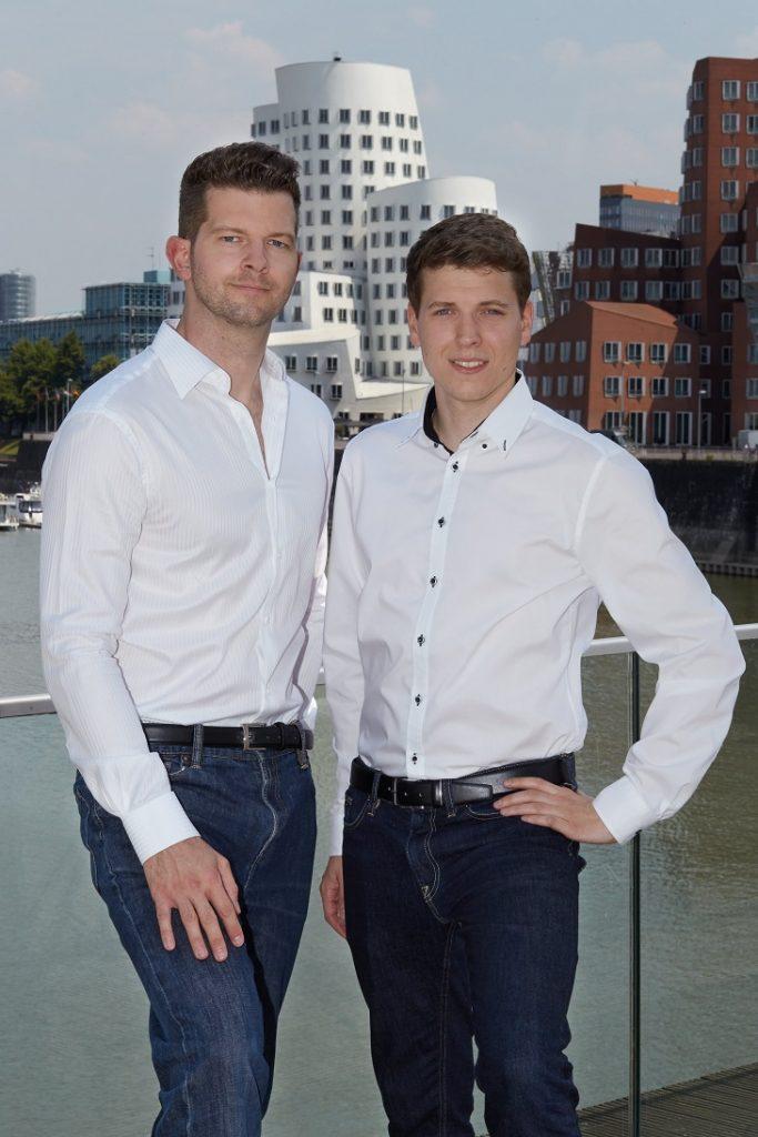 Philipp Heltewig ist CEO von Cognigy. Sascha Poggemann ist COO von Cognigy.