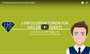 Video: 7 Erfolgsfaktoren für das ERP Projekt