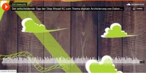 Podcast: Der entscheidende Tipp der Step Ahead AG zum Thema digitale Archivierung von Daten und Belegen
