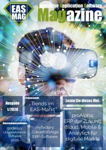 Neue Ausgabe vom Enterprise Application Software Magazine: Q1.2020 – Trends im EAS-Markt