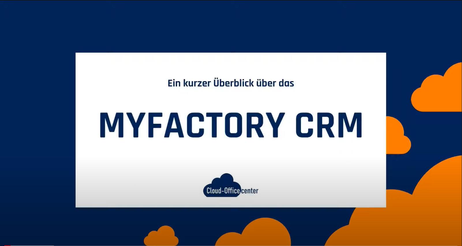 myfactory CRM